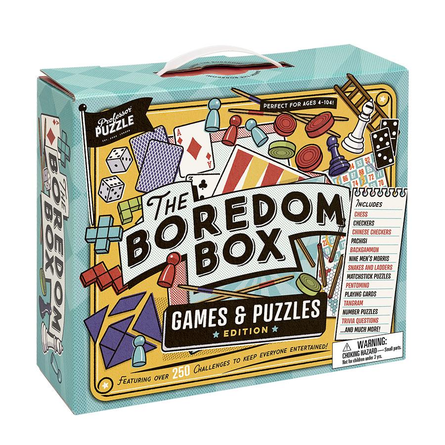 The Boredom Box | Professor Puzzle